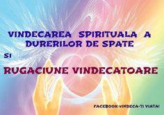 vindecarea spirituala DURERI DE SPATE