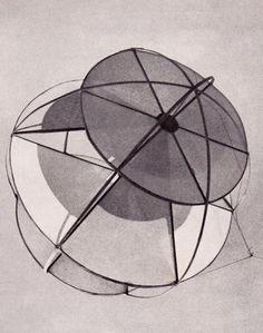 """Fotografías de la Universidad de Illinois """"Kite Derby Day"""", 1957 Estudiantes de segundo año del departamento de Diseño Industrial."""