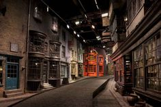 Warner Bros. Studio Tour have released a 360 degree view of Diagon Alley. | Now You Can Visit The Real-Life Diagon Alley In Google Maps