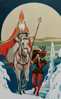 Sinterklaas met Piet