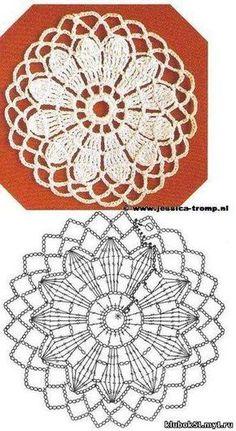 New Crochet Lace Edging Chart Knitting Stitches 69 Ideas Crochet Motif Patterns, Crochet Lace Edging, Crochet Blocks, Crochet Diagram, Crochet Round, Crochet Chart, Crochet Squares, Crochet Flowers, Easy Crochet