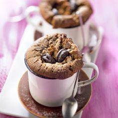 Petits moelleux au café et aux Mini Oreo® #recette #café #oréo #facile
