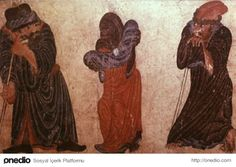 Three men by Dick Osseman Animal Fashion, Art Pictures, Persian, Mystic, Miniatures, History, Drawings, Painting, Animals