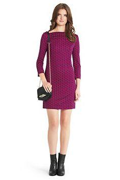 Ruri Printed Silk Jersey Dress In Leo Chain Mini Pink