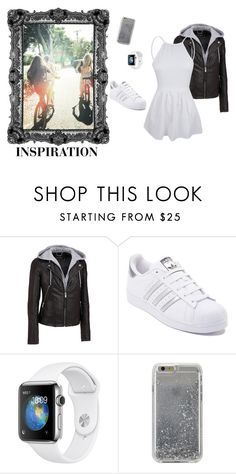 """""""inspiration"""" by autumn-kirby2020 on Polyvore featuring Wilsons Leather, adidas and Agent 18"""