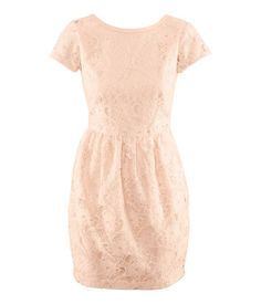 HM pale pink lace dress. kaitlynsuveg