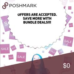 !!!Bundle Deals!!! Offers are Accepted. Save more with bundle deals. Merona Tops