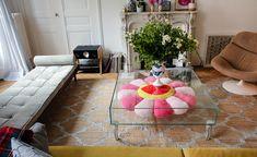 Jeanne, Paris 10ème - Inside Closet Gio Ponti, Maison Rabih Kayrouz, Pierre Paulin, Shag Rug, Kids Rugs, Make It Yourself, Living Room, Interior, Blog