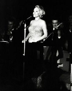 Marlene dietrich a Viareggio nel 1972.