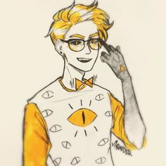 Is it bill cipher or is it Kevin from the greatly despised desert bluffs