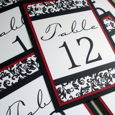 these were my inspiration for the table numbers I designed myself. colors & theme = perfect fit with our day.