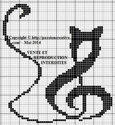 Risultati immagini per cross stitch catpinterest