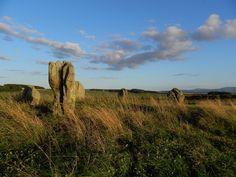 Dudo Stones. Nothumberland. England.