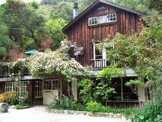 """Big Sur Bakery... I love when something pops up on pinterest and triggers a great memory! We ate tons of fabulous pastries here on our """"babymoon"""" when I was seven months pregnant with Leo :-)"""
