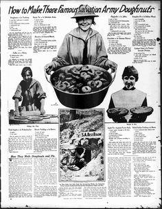 La Gran Guerra. Chicas del Ejército de Salvación repartiendo donuts en las trincheras de Europa