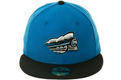 The Clink Room Syracuse Skychiefs Alternate Fitted Hat by New Era - Light Blue, Black | Hat Club