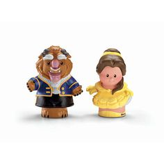 """Fisher-Price Little People Disney Princess Figures 2-Pack - Belle and Beast - Fisher-Price - Toys """"R"""" Us"""