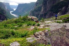 Long Range Traverse, Newfoundland, Canada  Western Brook Pond to Gros Morne Mountain  Round-Trip: 23 miles, 3 to 5 days