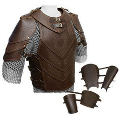 "Deluxe Leather Armour Set (Heavy 8oz Leather) ""Horse Lord"" --- LRP Store - LARP Costume, Weapons, Accessories and Kit with worldwide delivery"