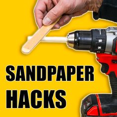 5 Quick Sandpaper Tips and Tricks! #woodworking #DIY