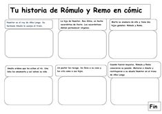 Cómic de Rómulo y Remo Roman History, Ancient Rome, Social Studies, Fun Facts, Thing 1, Activities, Education, School, Puerto Rico
