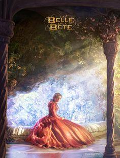 La Belle et La Bête [2014] — Concept Art, by François Baranger.