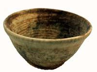 Large Popcorn Bowl --I like the natural brown pottery.  Want to expand my serving pieces