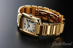 CARTIER Tankfrancaise LM / Ref.W50011S3