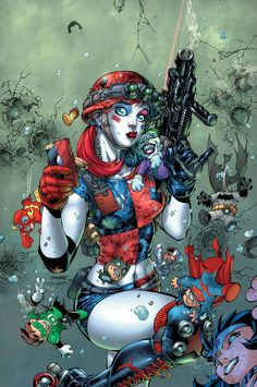 JIM LEE To Draw HARLEY QUINN / SUICIDE SQUAD | Newsarama.com