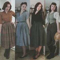 I would wear all of these, except the lace sleeved blouse on the right. Love everything else though.