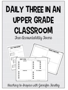 Daily Three in an Upper Grades Classroom - Teaching to Inspire with Jennifer Findley