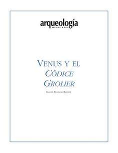 Venus y el codice grolier