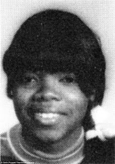 In the past: Oprah, pictured in 1968, while attending Nicolet High School in Glendale, Wis...