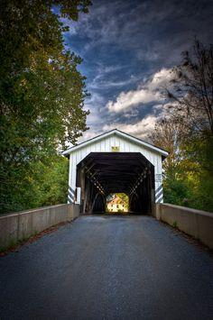 Baumgardner's Mill Bridge by Brian Heiland on 500px - See http://en.wikipedia.org/wiki/Baumgardener's_Covered_Bridge covered bridge - Lancaster PA