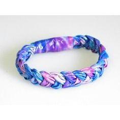 Ducktape braided bracelet