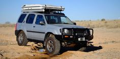 This Xterra is one of the more comprehensive builds we've seen in a very long time. Suv Camping, Nissan Xterra, Offroad, 4x4, Vehicles, Dream Machine, Portal, Grid, Off Road