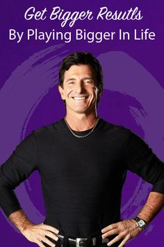 If you want bigger results you need to play bigger, learn how by Bestselling author T. Harv Eker http://www.harvekeronline.com/play-bigger-get-bigger-results