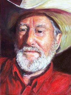 Donna Munsch Fine Art: Original Oil Painting Rancher