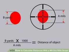 Image titled Calculate Distances With a Mil Dot Rifle Scope Step 5