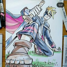 Boku No Hero Academia, Boruto, Draw, Otaku, Anime Art, Gallery, Roof Rack, To Draw, Sketches