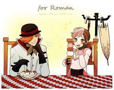 Roman and Neo by kumafromtaiwan. Rwby Anime, Rwby Fanart, Rwby Neo, Red Like Roses, Rwby Comic, Rwby Ships, Team Rwby, Anime Friendship, Rooster Teeth