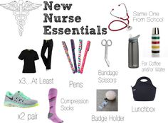 RN Link Up: New Nurse Essentials - A Dose of Paige