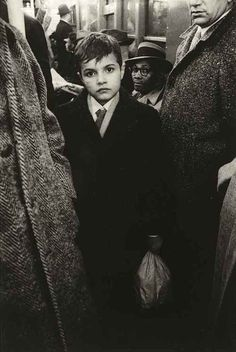 Boy in the Subway - photo by Diane Arbus [1956]