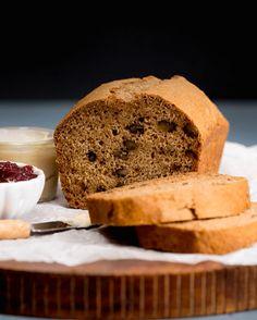 Apple-Walnut Breakfast Bread - Plant-Based Vegan Recipe
