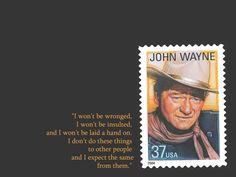 John Wayne Western Movie Quotes