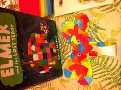 Elmer the Elephant story and craft.