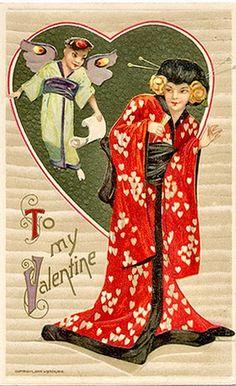 A valentine card for Yum-Yum.