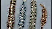 Tornozeleira de Pérolas Verde Jade - Maguida Silva - YouTube Verde Jade, Friendship Knot, Headpiece, Beaded Bracelets, Necklaces, Slippers, Jewelry Making, Brooch, Beads
