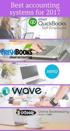 The Best Bookkeeping and Accounting Systems -- Best accounting systems Online Bookkeeping, Bookkeeping Software, Bookkeeping And Accounting, Accounting And Finance, Small Business Accounting Software, Small Business Bookkeeping, Business Planning, Business Tips, Craft Business
