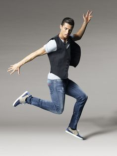 On Monday March Cristiano Ronaldo, Portuguese superstar footballer, officially launches his Footwear collection globally … But surprisingly, the Real Madrid forward has a reported 9 million Euro contract with Nike and they. Cr7 Ronaldo, Cristiano Ronaldo 7, Real Madrid, Cr7 Shoes, Cr7 Jr, Latest Fashion, Mens Fashion, Best Player, Famous Brands